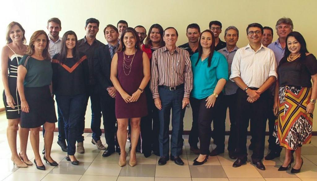 Diretores e representantes parceiros.