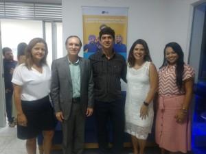 Equipe FCDL RN juntamente com o presidente da CDL  Ceará Mirim.