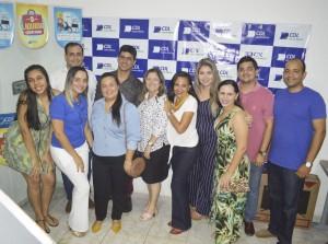 Equipe da CDL Ceará-Mirim e consumidores