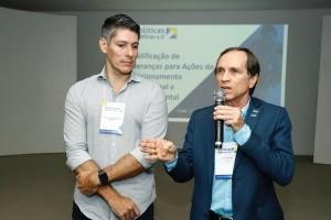 Afrânio Miranda e Augusto Vaz (Foto: Moraes Neto)